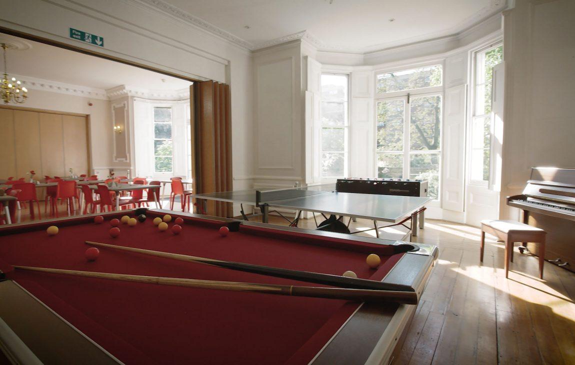games room facilities